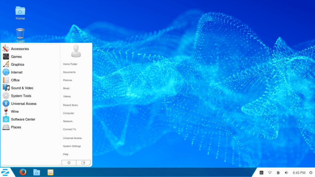 Linux Zorin OS